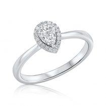 טבעת יהלום Pola