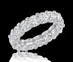 טבעת יהלומים איטרניטי Serenity