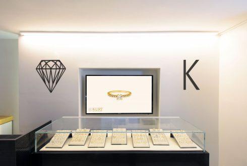 חנות תכשיטי יהלומים