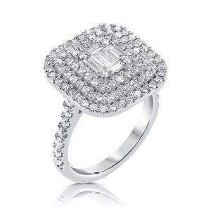 טבעת יהלומים Almog