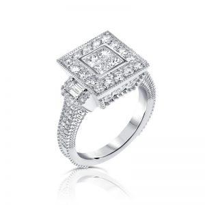טבעת יהלומים EXCALIBUR