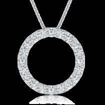 תליון יהלומים מעגל החיים