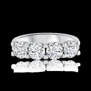 טבעת יהלומים 4kings