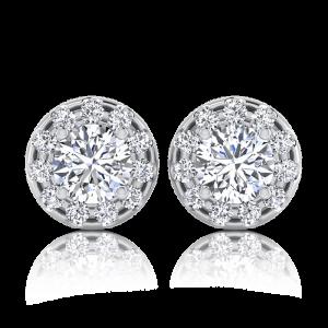 עגיל יהלומים Alo