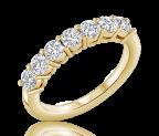 טבעת שורה יהלומים amora