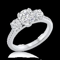 טבעת אירוסין קלאסית Yoval