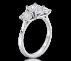 טבעת אירוסין קלאסית Anna T