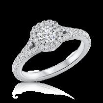טבעת אירוסין טוויסט Zelda V