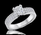 טבעת אירוסין מיוחדת Mateo