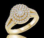 טבעת יהלומים Lilian