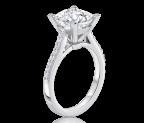 טבעת אירוסין זהב צהוב Mora