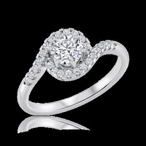טבעת אירוסין מיוחדת Wendy