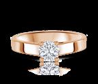 טבעת אירוסין סוליטר olisa