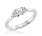 טבעת אירוסין קלאסית Dolavi