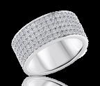 טבעת יהלומים Fivelins
