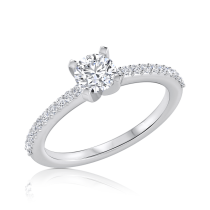 טבעת אירוסין קלאסית Dorin