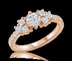 טבעת אירוסין וינטג iris