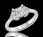 טבעת אירוסין עדינה Vayoulet