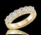 טבעת שורה Amora S
