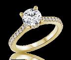 טבעת אירוסין Goldi