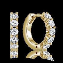 עגילי Five Diamond