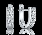 עגילי יהלומים Alips