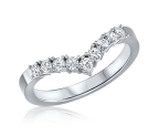 טבעת יהלומים ווי